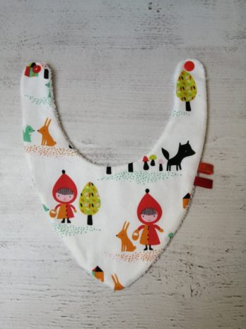 Bavoir bandana collection Petit Chaperon rouge