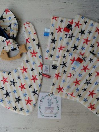 Coffret naissance, collection «étoiles de mer»