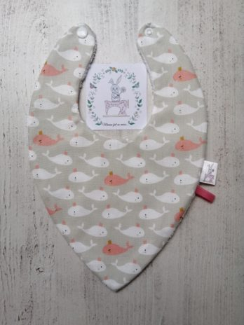Bavoir bandana, collection marine fille